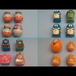 Fun Surprise Egg Opening Learning Game!  Which One is Different with Kinder Surprise! Lesson 6