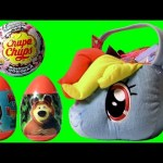 Giant Easter Basket SURPRISE Masha and Bear Chupa Chups MyLittlePony Play-Doh Clay Buddies Disney
