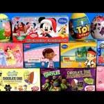 Giant EASTER Eggs SURPRISE Peppa TMNT SpongeBob MyLittlePony Mickey Minnie SHOPKINS Disney FROZEN