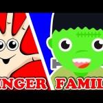 Halloween Finger Family   Finger Family Song   Surprise Eggs Animation Nursery Rhymes for Kids