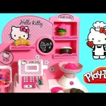 Hello Kitty Bakery Shop Play Doh – Pastelería Pasticceria Pâtisserie Panadería Bäckerei булочная