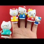 Hello Kitty Finger Family Nursery Rhymes