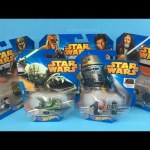 Hot Wheels STAR WARS Character Cars Yoda Chopper Darth Vader Chewbacca Han Solo C-3PO Obi-Wan Kenobi