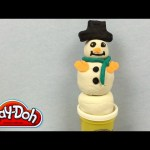 How To Make A Play Doh Snow Man