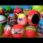 Huge Surprise Easter Eggs 2014 Star Wars Ben10 Lego Movie Skylanders Avengers Peppa Pig Cars2 Tomy