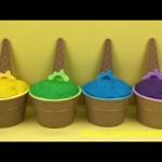 Ice Cream Play Doh Surprise Toys The Good Dinosaur Arlo and Spot Batman Paw Patrol Finding Nemo