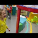 Indoor playground fun for kids with tricky mirror. Video from KIDS TOYS CHANNEL
