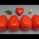 Inside Out Surprise Egg Learn-A-Word! Spelling Valentine's Words! Lesson 2
