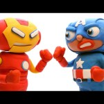 Ironman vs Captain America Civil War – Play Doh Animation Superhero Movie Clips
