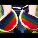 Jello Rainbow GUMMY Watermelon | New DIY DCTC Kid Videos
