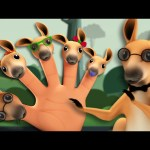 Kangaroo Finger Family | 3D Nursery Rhymes For Kids | Songs For Childrens