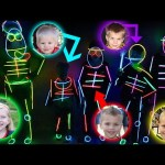 Kids GLOW-IN-THE-DARK Costume Runway Show