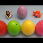 Kinder Surprise Egg Learn-A-Word! Spelling Fruit! Lesson 18