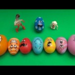 Kinder Surprise Egg Learn-A-Word! Spelling Fruit! Lesson 21