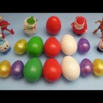 Kinder Surprise Egg Learn-A-Word! Spelling Holiday and Christmas Words! Lesson 23