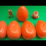 Kinder Surprise Egg Learn-A-Word! Spelling Holiday and Christmas Words! Lesson 3