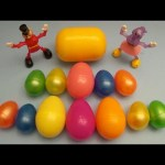 Kinder Surprise Egg Learn-A-Word! Spelling Party Words! Lesson 4