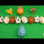 Kinder Surprise Egg Learn-A-Word! Spelling Sports!(Teaching Letters Opening Eggs)