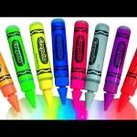 Learn Colors Crayola Bathtub Crayons Finger Bath Paint Gel Pens Peppa Pig Bathtime Fun in Bathtub