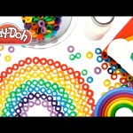 Learn Colors of the Rainbow with Play Doh Froot Loops Learning Colours RainbowLearning