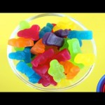 Learn Colours and Counting with Jelly Baby Candy