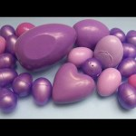 Learn Colours with Surprise Eggs!  PURPLE!