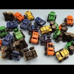Learn Colours with Toy Monster Trucks! Fun Learning Contest!