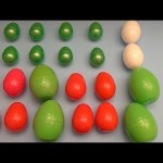 Learn Patterns with Surprise Eggs!  Opening Surprise Eggs filled with Toys! Christmas Edition!
