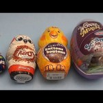 Learn Sizes with Surprise Eggs! Opening Surprise Eggs Filled with Chocolate!