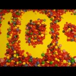 Learn To Count 1 to 100 with Candy Numbers! Surprise Eggs with Smarties Skittles and Candy Hearts
