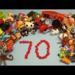 Learn To Count 1 to 70 with Toys and Candy Numbers!