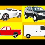 Learning Street Vehicles for Kids | Cars and Trucks | Animated Surprise Eggs filled with Vehicles!