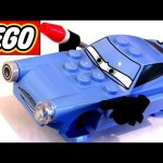 LEGO Cars 2 Super Spy Finn McMissile 9486 Disney Pixar toy review how-to build buildable toys