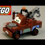 Lego Cars Classic Tow Mater 8201 toy review how-to build Disney Pixar toys Carl Attrezzi Cricchetto