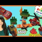 Lego Duplo Disney Planes Fire and Rescue toy for kids Egg Surprise Toys Disney Cars McQueen