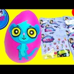 Littlest Pet Shop Series 2 Blind Bags and Sunil Play Doh Surprise Egg