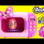 Minnie Mouse Marvelous Microwave with Tsum Tsum Shopkins Surprise Egg