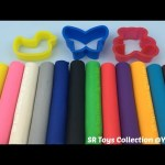 Modelling Clay with Duck Butterfly and Teddy Bear Molds Fun & Creative for Kids