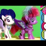 My Little Pony Pop Princess Luna & Rarity ❤ Build your Ponies snap and design by FunToys