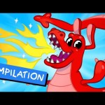 My Pet Dragon – Dragons for kids videos + kids 44 minute video compilation by My Magic Pet Morphle