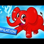 My Pet Elephant – Learn to Clean + 1 hour kids Video compilation by My Magic Pet Morphle