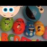 NEW BABY BIG MOUTH SURPRISE EGG LEARN TO SPELL- INSECTS