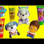 New Paw Patrol Pup Squirters Everest, Ryder and Robo Dog