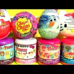 OLAF Surprise Eggs Chupa Chups MASHEMS FASHEMS My Little Pony Paw Patrol HELLO KITTY