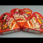 Opening 3 Giant Kinder Surprise Valentine's Eggs!