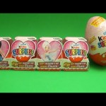 Opening a Valentine's Day Disney Fairies Kinder Surprise Egg Train! And a Giant Kinder Surprise Egg!