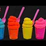 Helados de Plastilina Play Doh Ice Cream Surprise Toys Disney Frozen LalaLoopsy