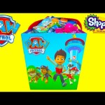 Paw Patrol and Shopkins Surprises in a Bucket