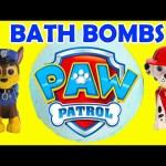 Paw Patrol Bath Bomb Surprises