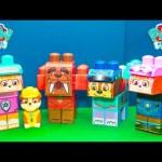PAW PATROL Nickelodeon Paw Patrol Everest + Zuma Blocks paw Patrol Toys Unboxing